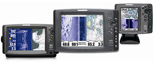 side imaging technology in the humminbird echo-sounders, Fish Finder